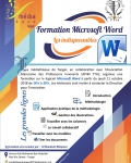 Formation en informatique : Microsoft Word